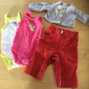 Other - 4pc girls lot newborn